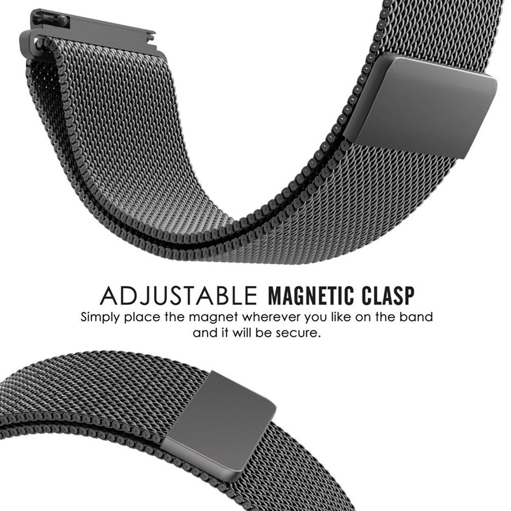 Milanese Magnetic Steel Watch Band Strap For Samsung Gear S3 Spigen Tempered Glass Classic Frontier Glastr Slim 2pack Notes 1due To The Difference Between Different Monitorsthe Picture May Not Reflect Actual Color Of Item