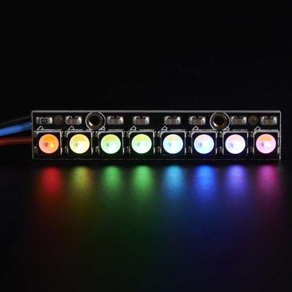 save off 350f4 ba040 Details about NeoPixel Stick 8 x WS2812 LED strip 5050 RGBW Natural -  Arduino Trinket FK