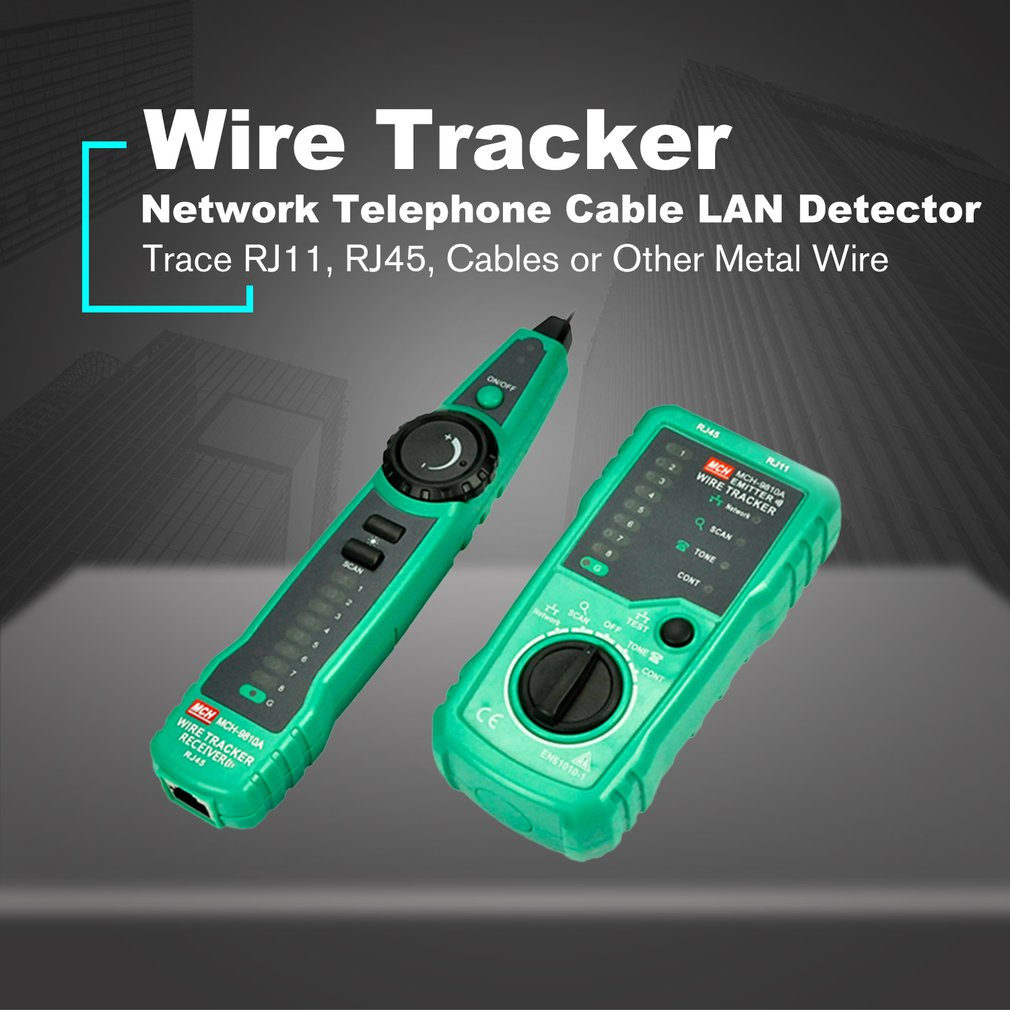 MCH-9810A Telephone Wire Network Tracker Cable Tester Detector Line ...
