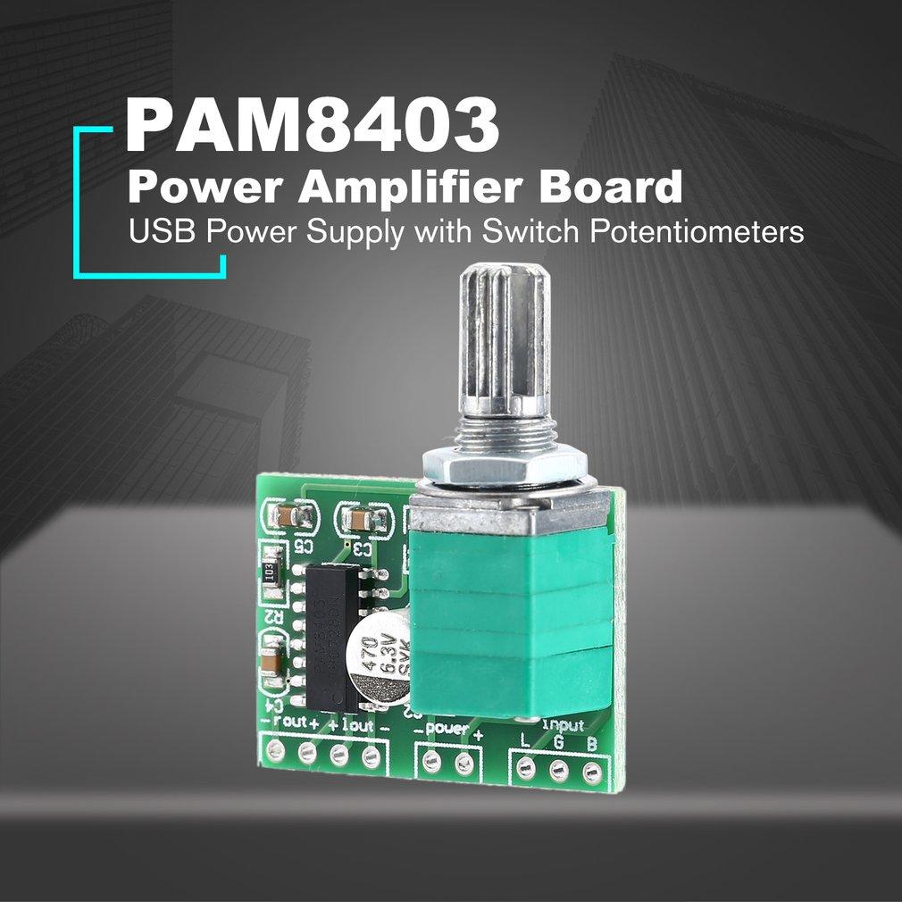 a42b6811f Mini DC 5V USB Power Supply Hifi Digital Audio Amplifier Board with Switch  L4
