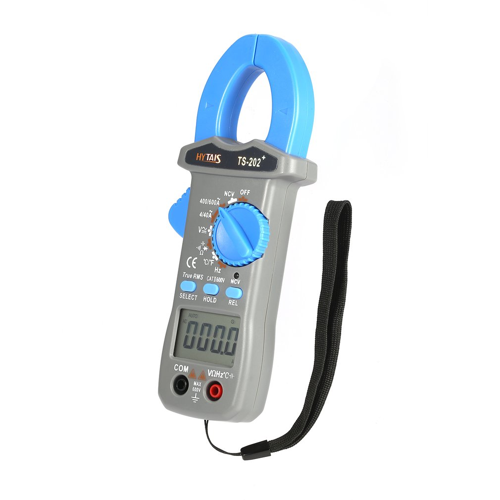 Hytais ts202 digital clamp meter multimeter true rms acdc tester hytais ts202 digital clamp meter multimeter true rms acdc tester 3999 counts c fandeluxe Image collections