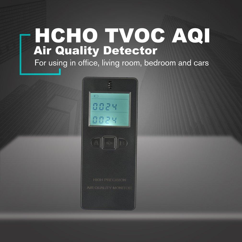 LCD Digital Formaldehyde Tester HCHO TVOC Gas Detector AQI Air Quality Monitor G