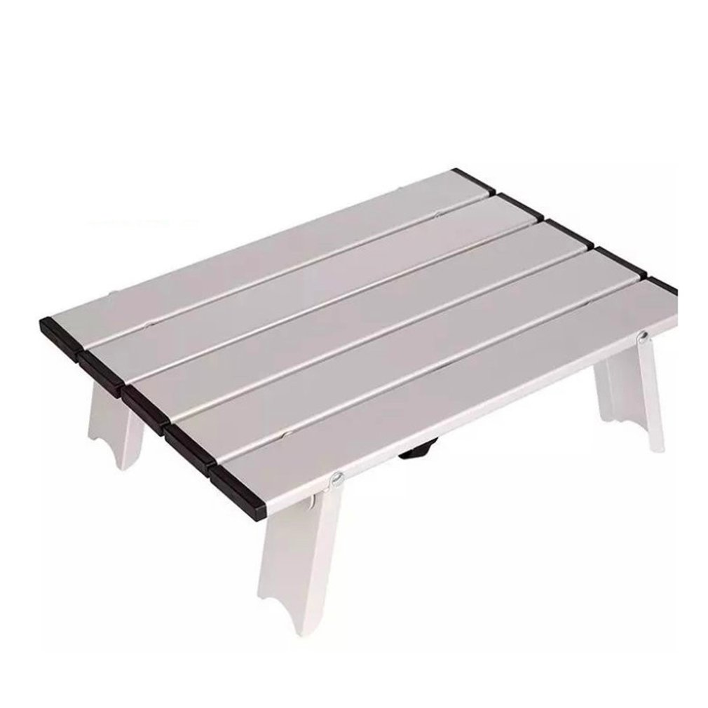 reputable site d31eb 265df Details about Japan Hot Camping Ultra Light Aluminum Folding Table Mini  Computer Table@D