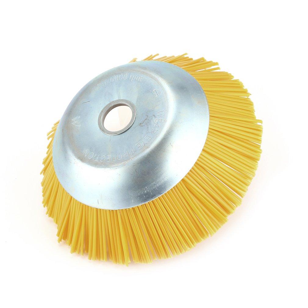 Outer Diameter 200mm Inner Hole 25.4mm Nylon Weed Brush Universal Trimmer HeadMK