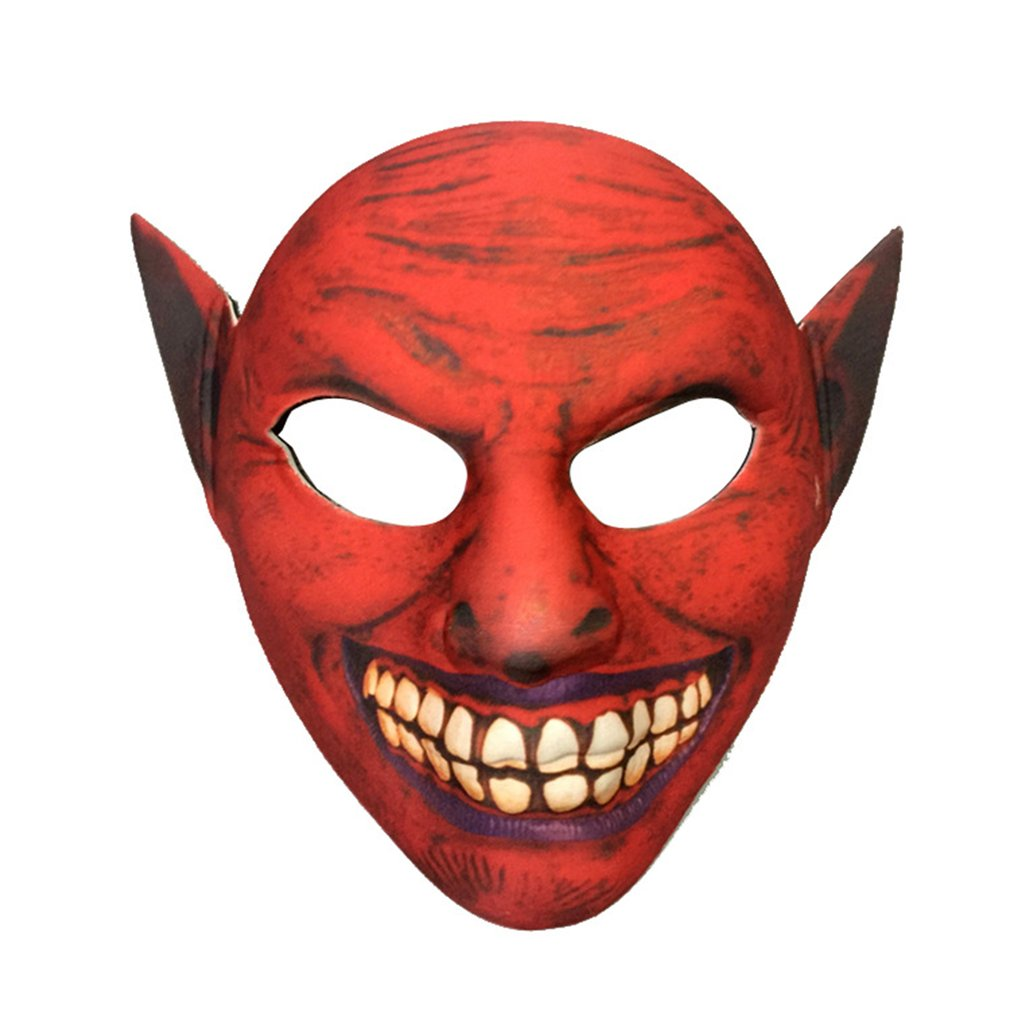 eva horror elf mask halloween costume scary face masks party