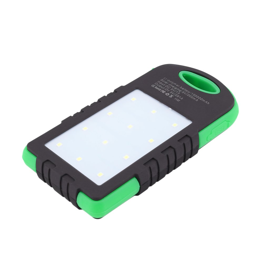 No Battery Battery Charger Cases Bright 1pc Solar Led 50000mah Power Bank Charger Case Kit Diy Waterproof Dual Usb