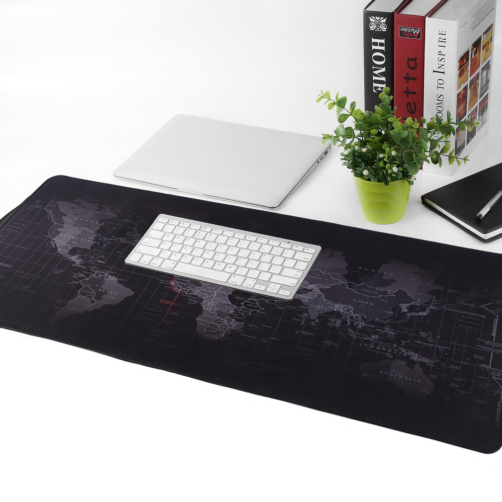 80cm x 30cm large world map mousepad game laptop computer keyboard item specifics gumiabroncs Gallery