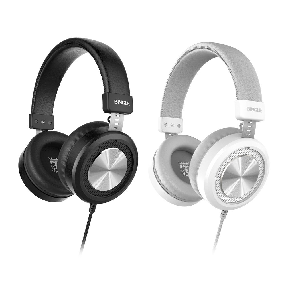Bingle M60 Wired Headset Microphone Stereo Lightweight Stereo Bass ...
