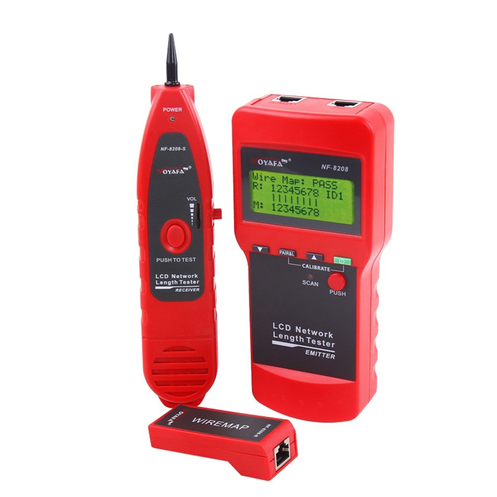 Short Circuit Tester Ebay Download Wiring Diagrams Finder Locator Multipurpose Noyafa Nf 8208 Network Rj45 Cable Wire