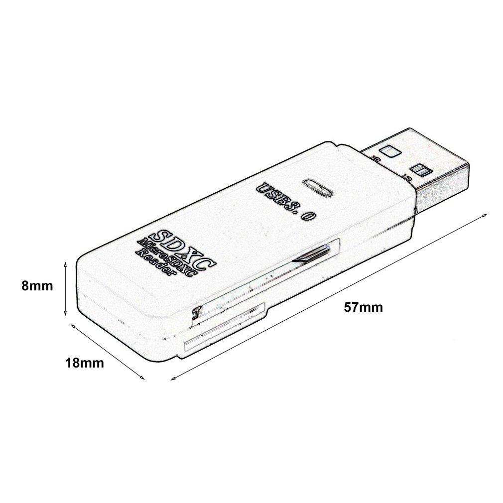 usb 3 high speed 2 in 1 memory card reader flash adapter micro sd Multiple USB Adapter usb 3 high speed 2 in 1 memory card reader flash adapter micro sd sdxc tf sa