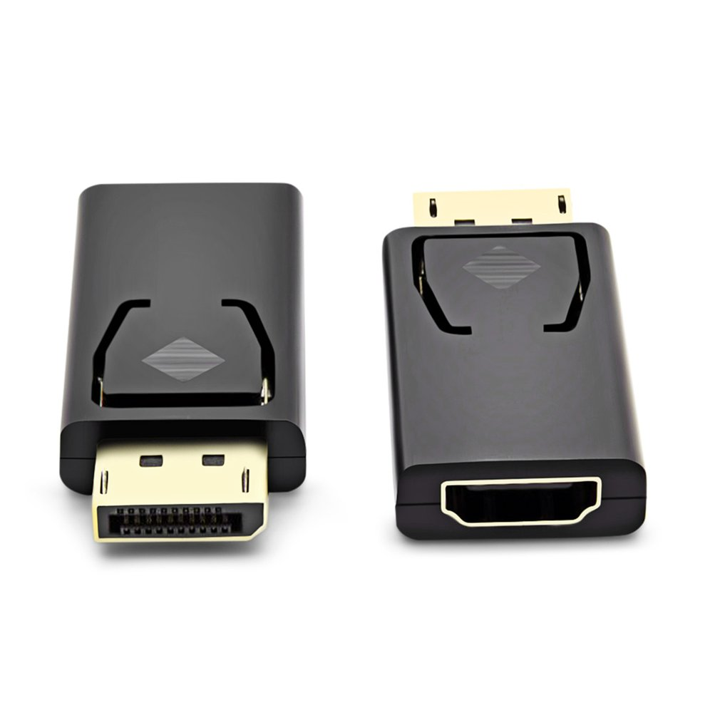 Display Port Dp Male To Hdmi Female Flat Adapter Converter Connector Displayport For Hdtv Pc