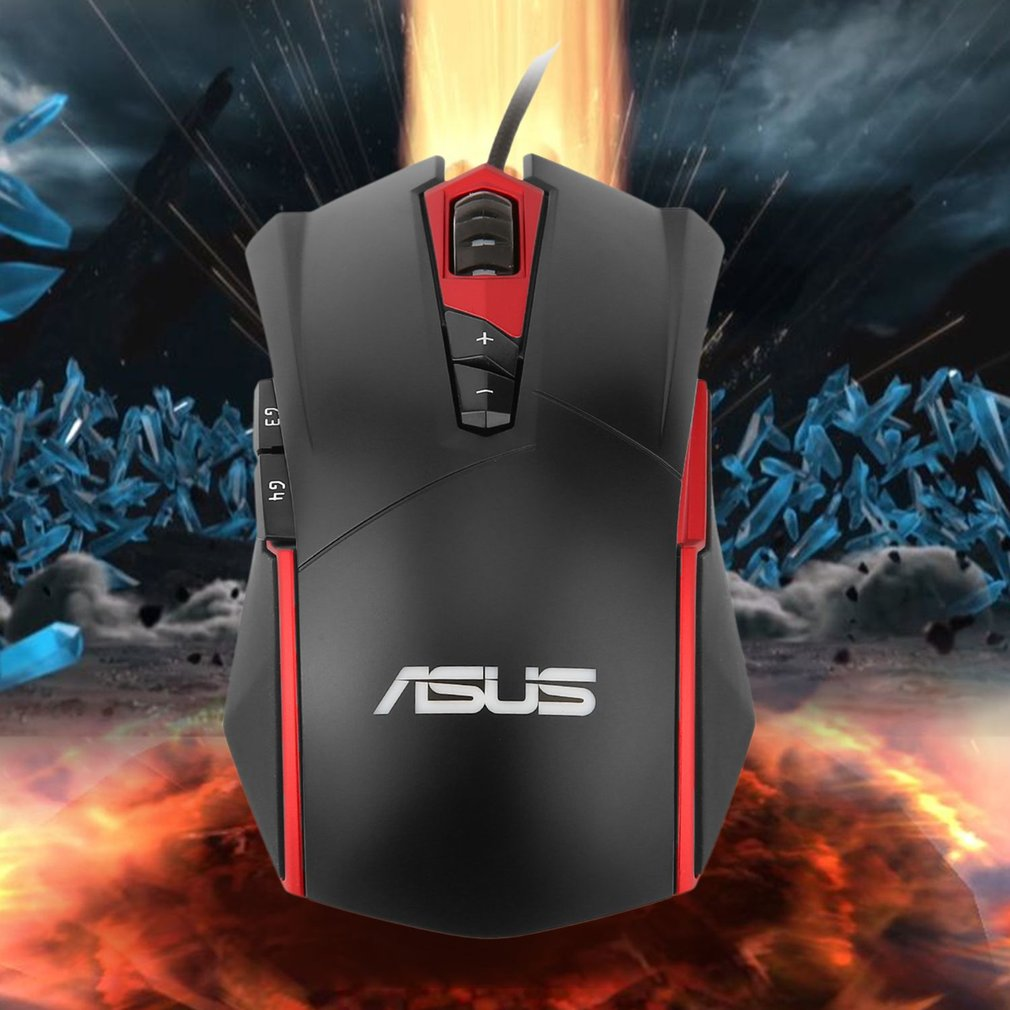 ASUS GT200 Gaming Mouse 4000DPI USB Wired Mechanical RGB Light ...