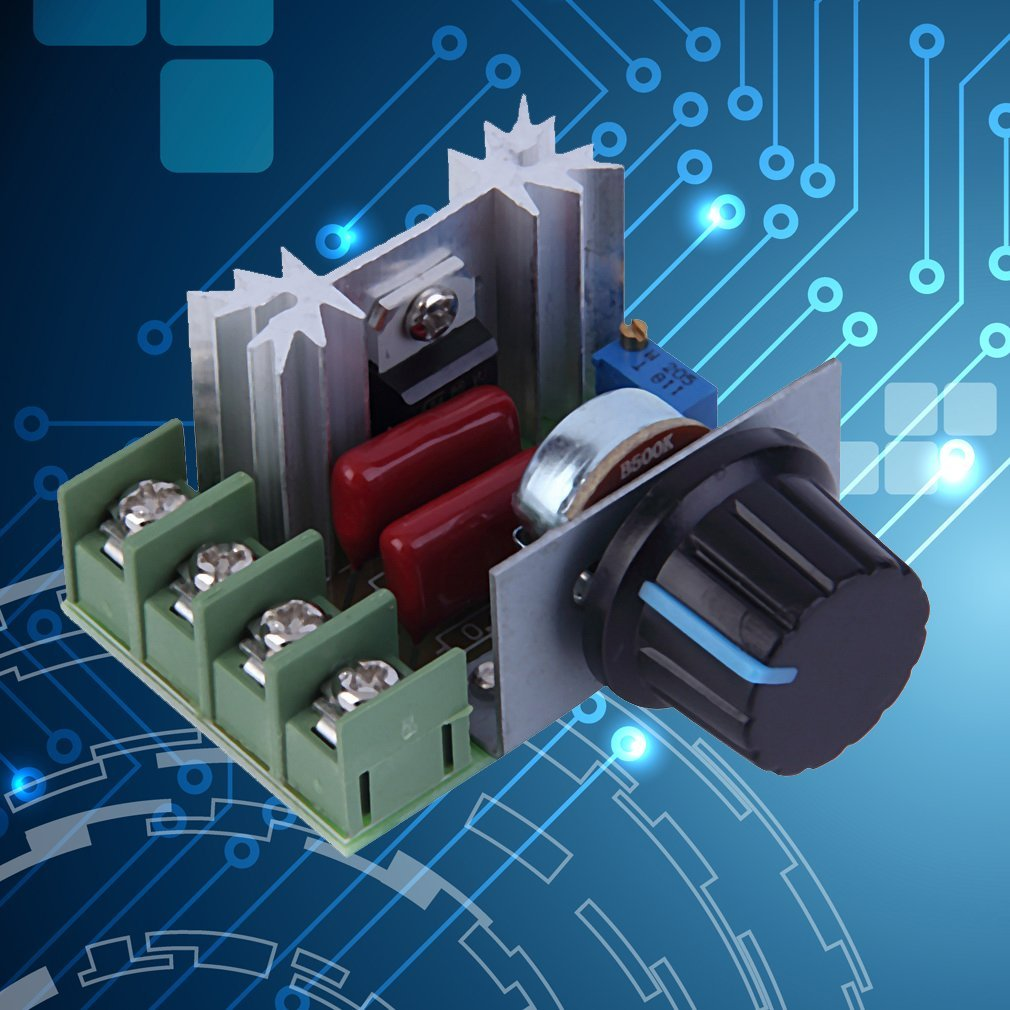 AC 220V 5000W di tensione dimmer Dimming Speed Controller termostato