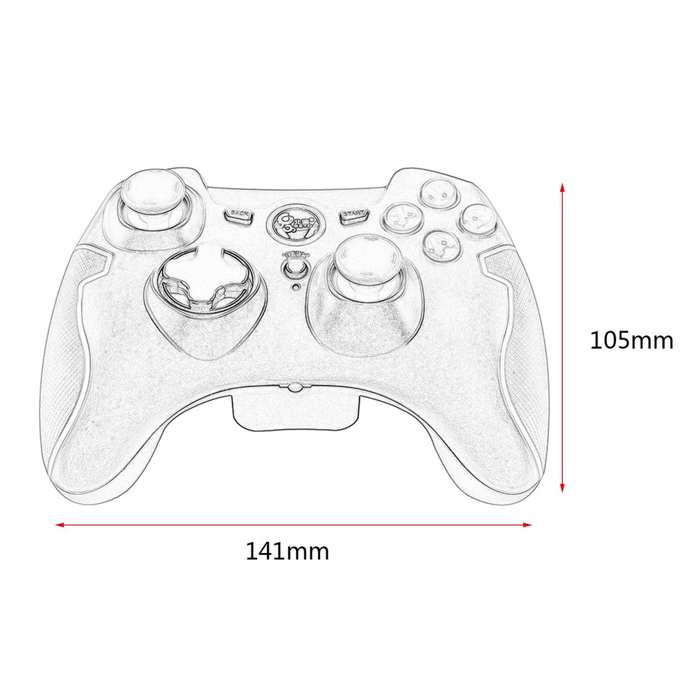 Betop Wireless Usb Vibration Gamepad Games Controller For