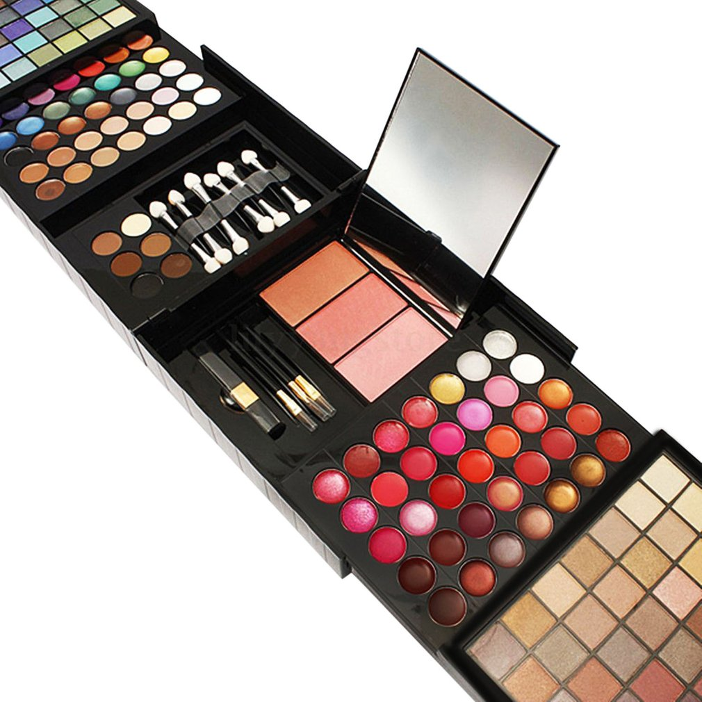 Pro 177 Color Eyeshadow Palette Blush Lip Gloss Makeup Beauty Cosmetic Set S# | EBay
