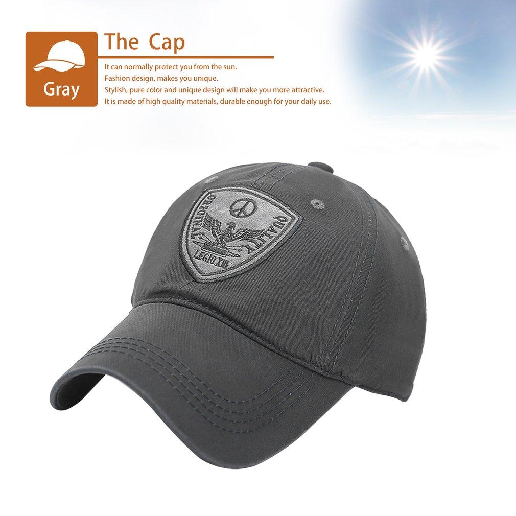 Casual Design Men Spring Summer Cotton Baseball Cap Golf Cap Hat For Male MB 4194141d1b5
