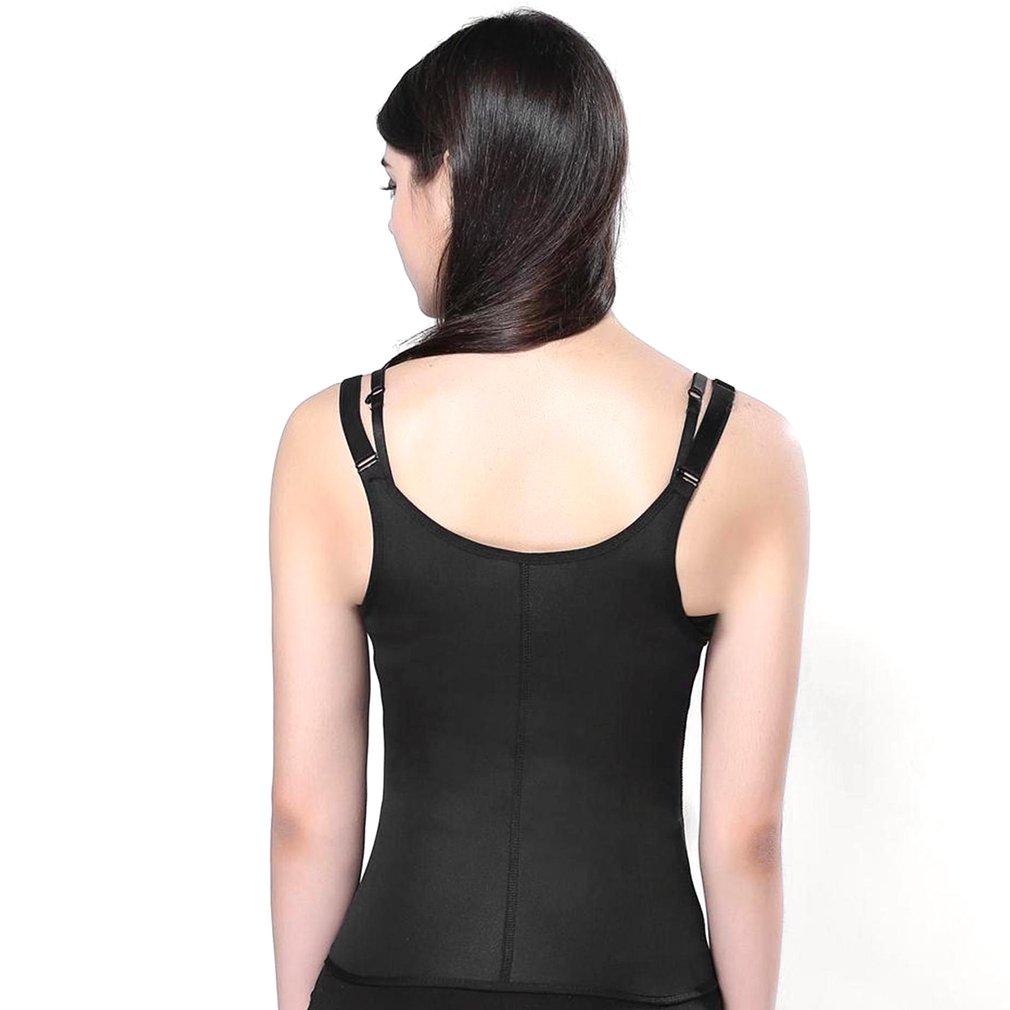 a9a8c547ccb47 Waist Trainer Vest Corset Women Zipper And Hook Body Shaper Slimming  UnderwearDA