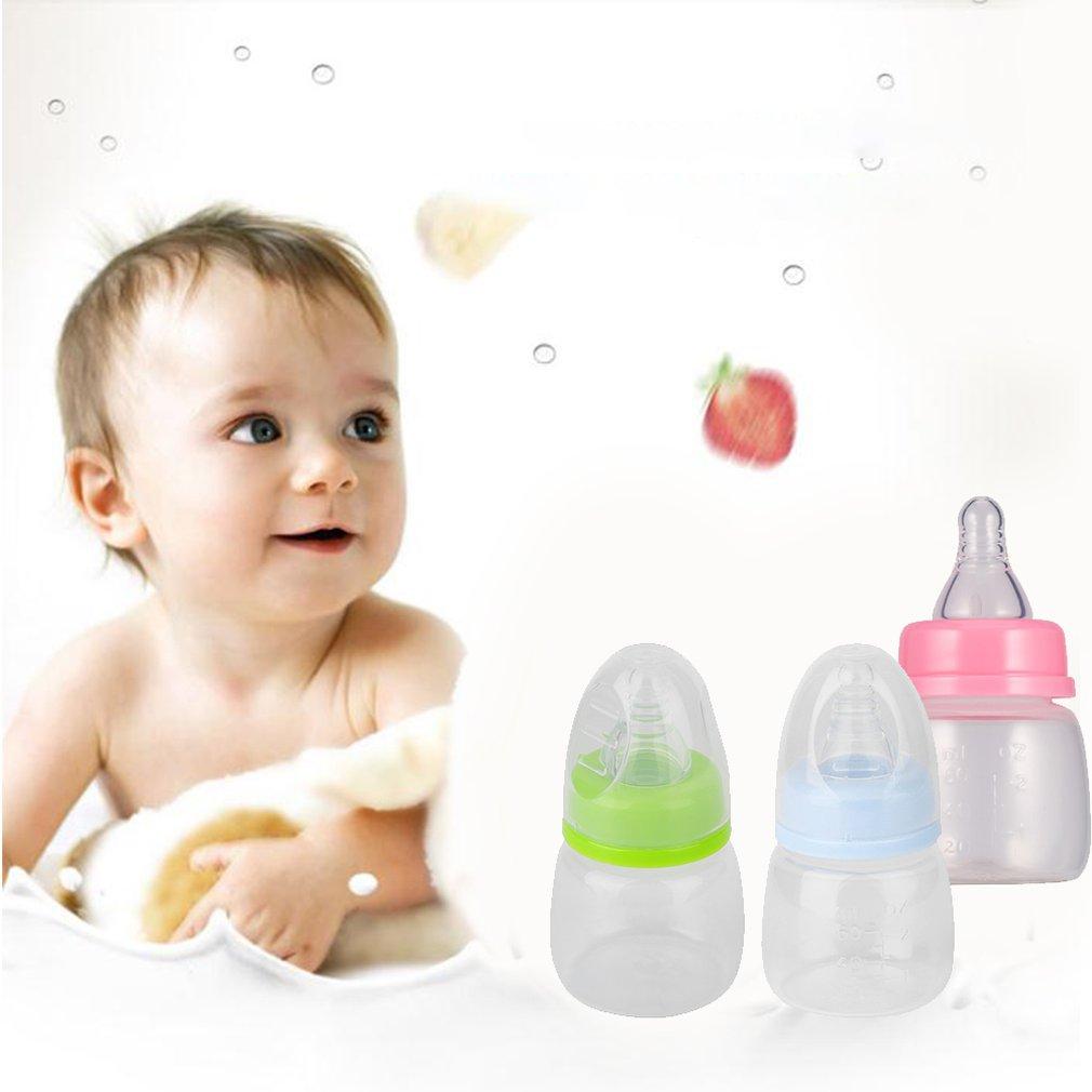 Milk Juice Water Drink 60ml Infant Baby Bottle Baby Girl Boy Bottle LJ