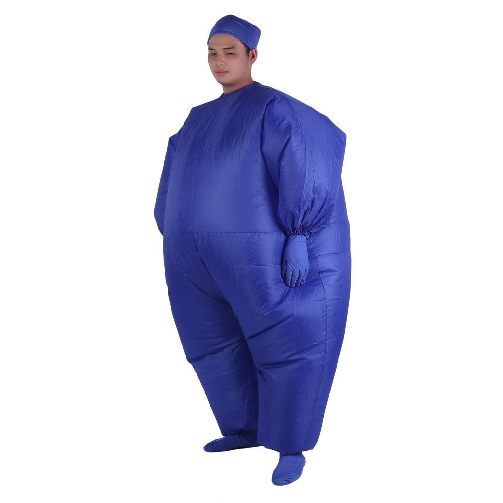 Inflatable-Fancy-Chub-Fat-Masked-Suit-Dress-Blow-  sc 1 st  eBay & Inflatable Fancy Chub Fat Masked Suit Dress - Blow Up Halloween ...