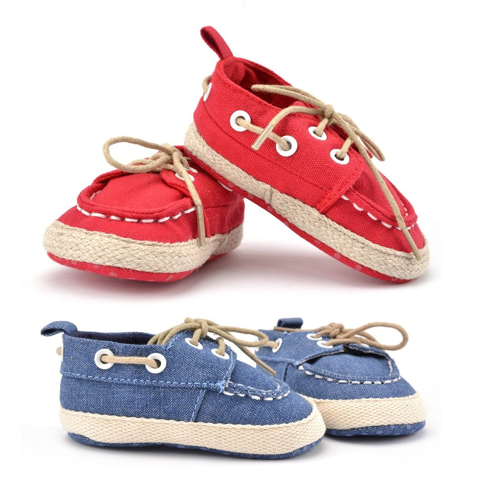 Comfortable Non-Slip Baby Shoes Breathable Canvas Baby ...
