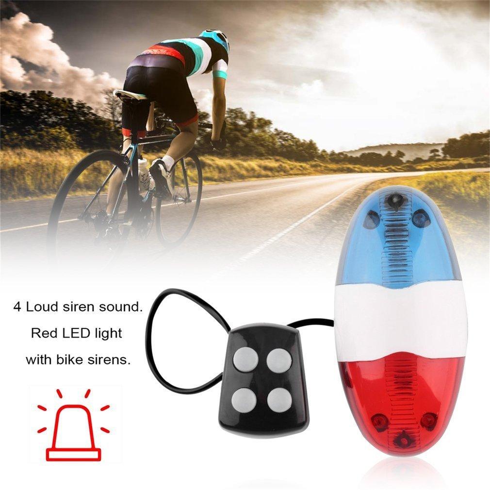 Bicycle Cycling Light Bell Horn Waterproof Security Loud Alarm Bells Supplies