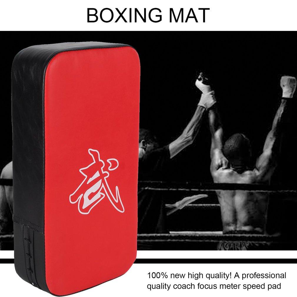 New Muay Thai Karate MMA Taekwondo Boxing Mitt Kick Punching Bag Pad Foot  FZY