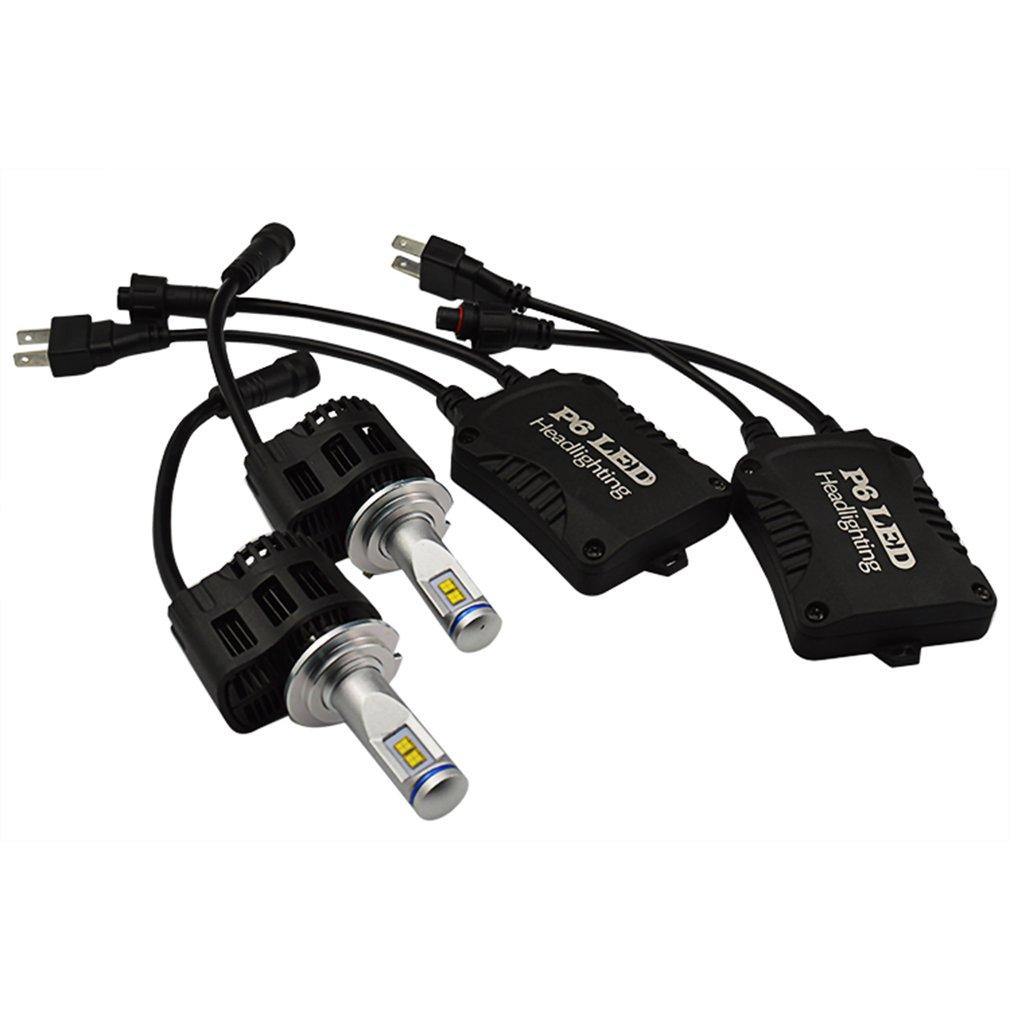 2 x 55w h7 led scheinwerfer birnen headlight leuchte. Black Bedroom Furniture Sets. Home Design Ideas