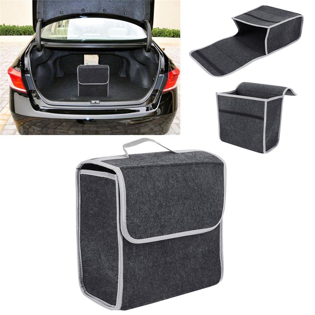 pickup Sac de rangement SOLOFISH pour coffre de voiture avec couvercle et s/éparateurs pour grand v/éhicule r/ésistant SUV camionnette plusieurs compartiments pliable /étanche