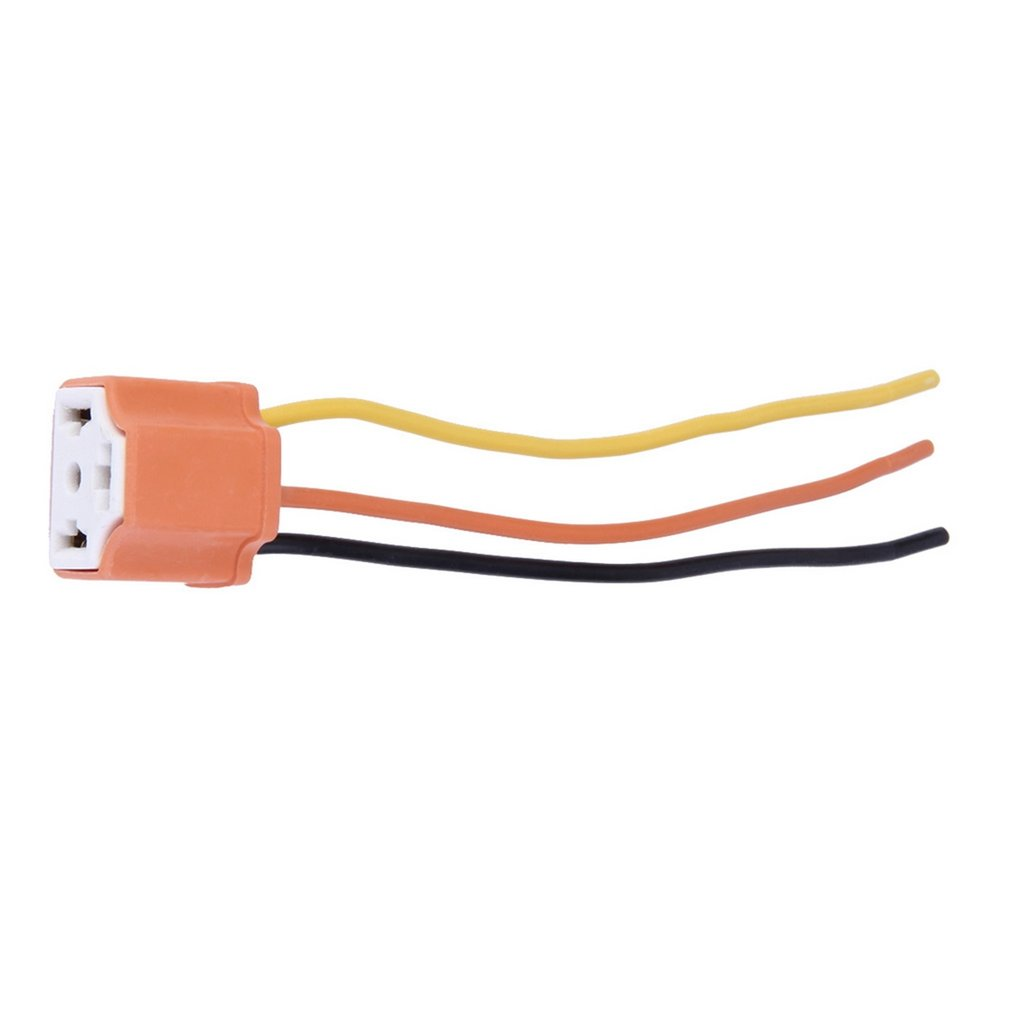 12v Dc Power Pigtail Male 21mm Cable Plug Wire Connector Ebay Female Ceramic Headlight Adapter Socket H4 9003 Hb2 P1