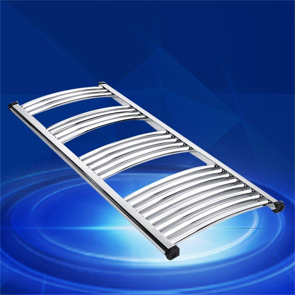 Radiador toallero el ctrico cromado acero inoxidable for Calentador de toallas electrico