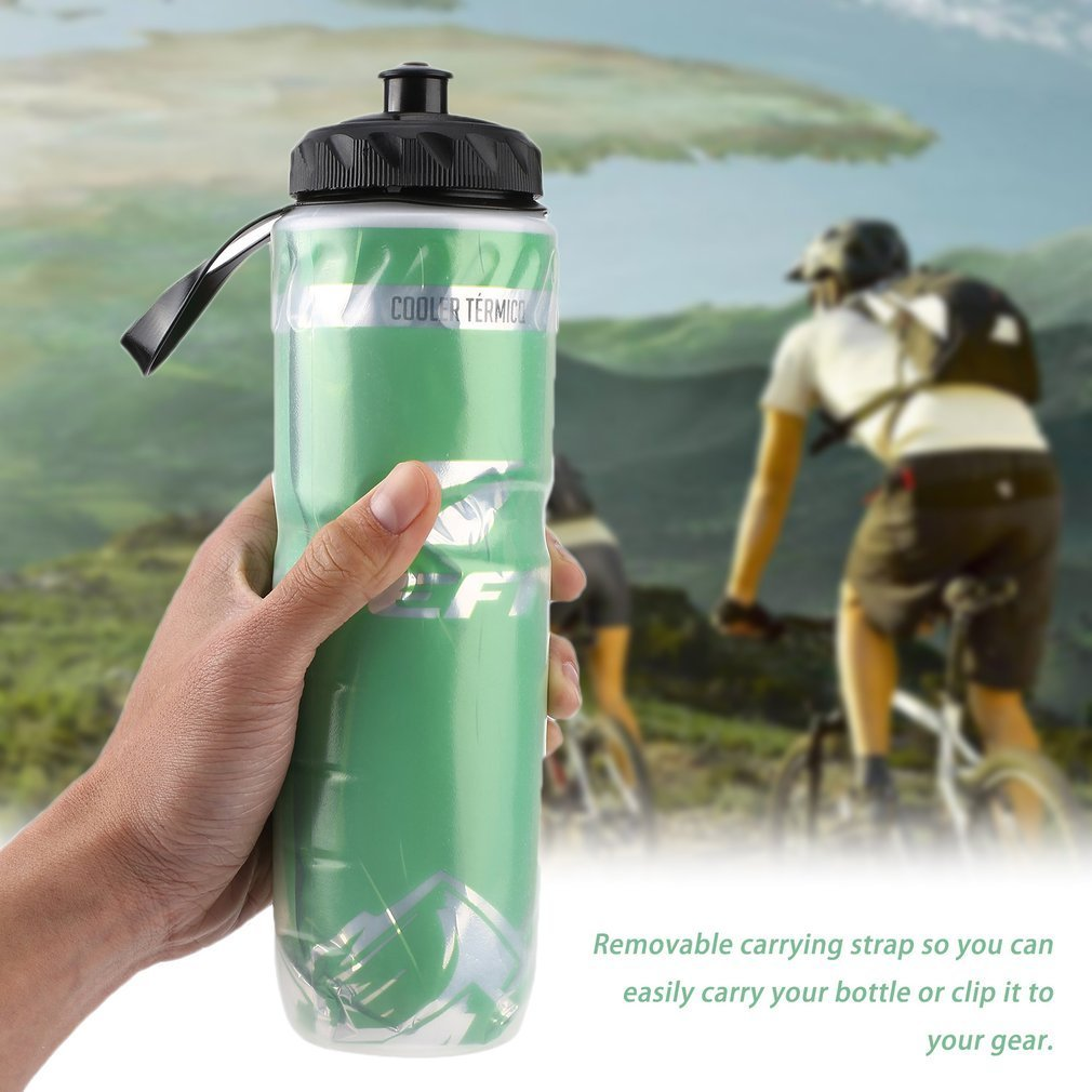 MTB Bike Bicycle Outdoor Sport Cycling Insulated Water Bottle Water Cup Sightly