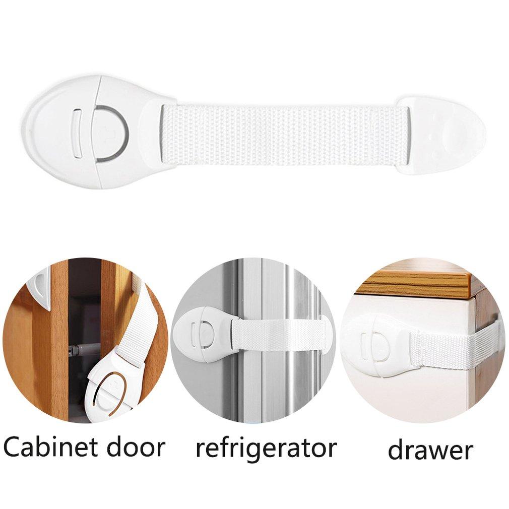 Tür Cords Anti Pinch Straps Seil Stopper Kinder Fingersicherheit Protect R7A5