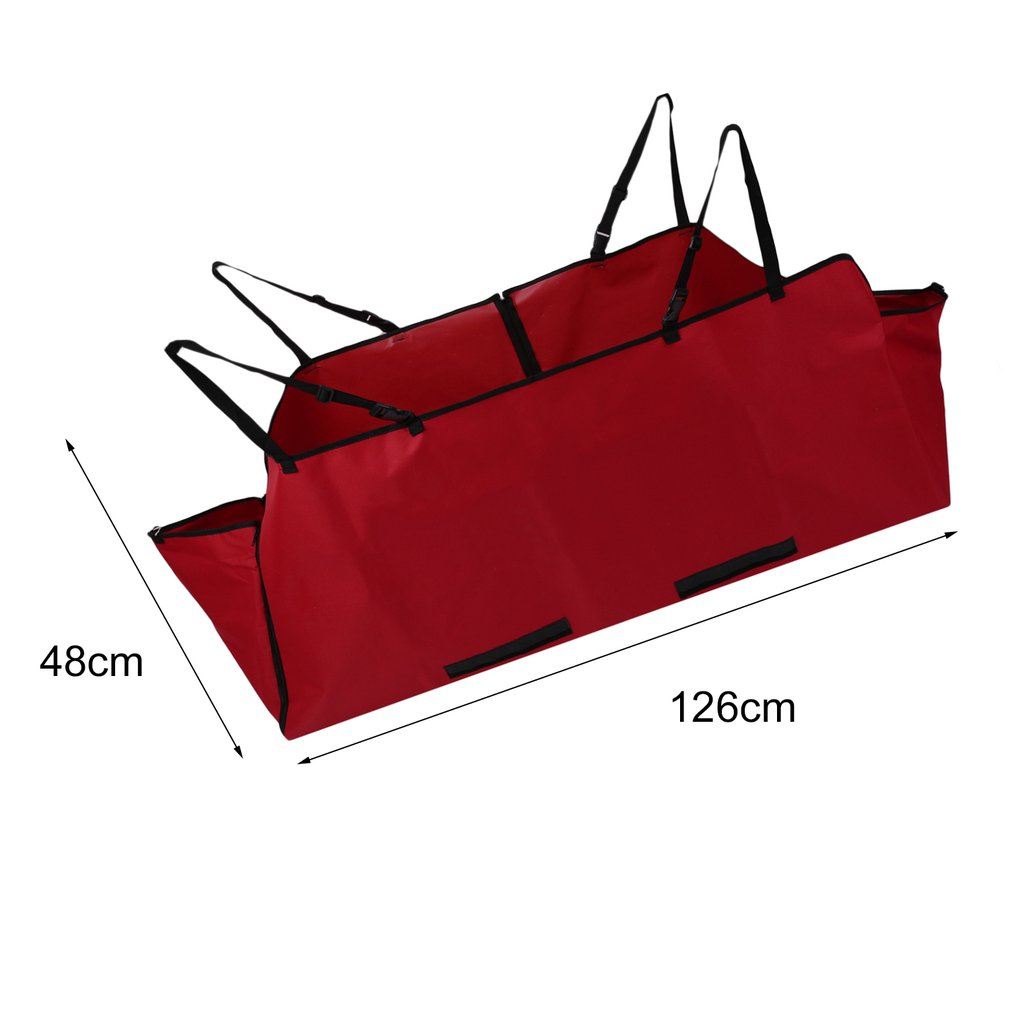 New-Car-Rear-Back-Seat-Waterproof-Cover-Pet-Safety-Mat-Protector-Hammock-AU-IK
