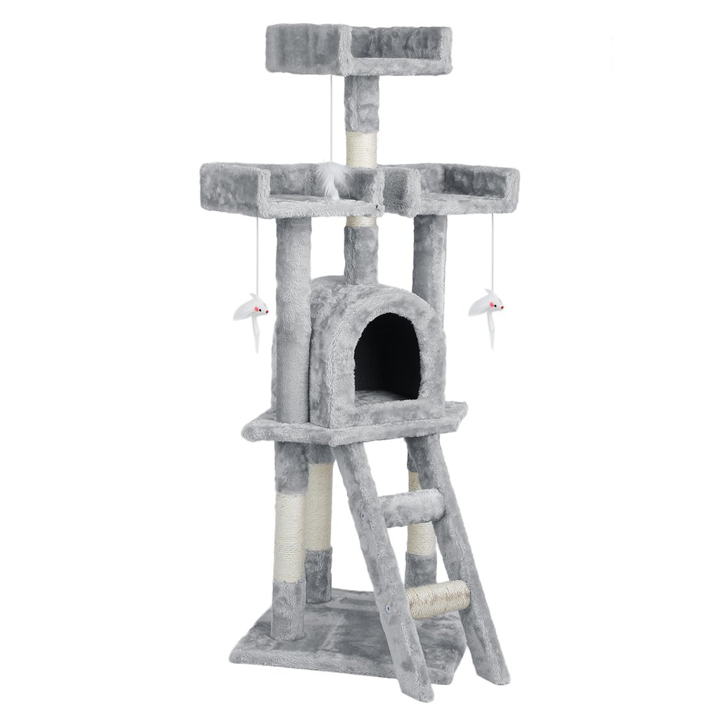 Cat Tree Scratching Post Pole Gym Toy House Furniture