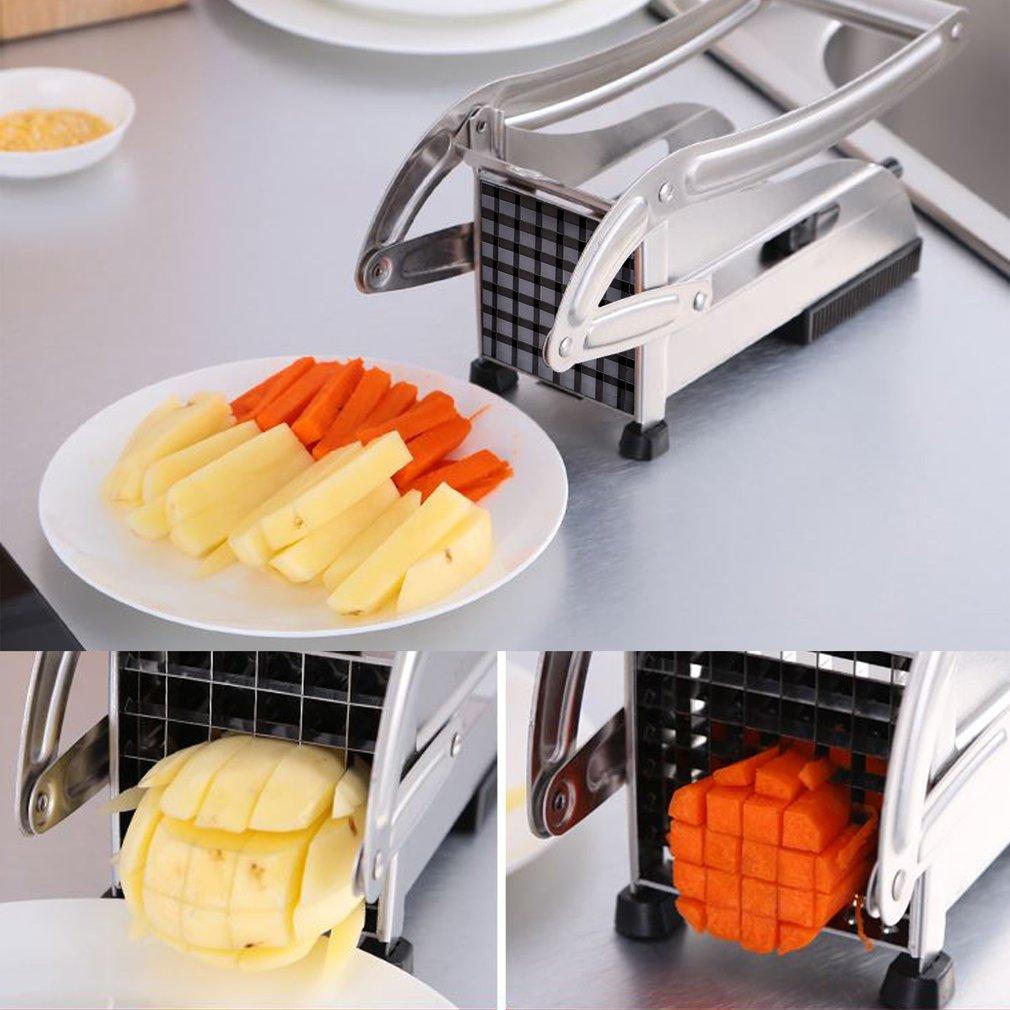 kartoffelschneider schneidemaschine gem sestifter frittenschneider pommes frites ebay. Black Bedroom Furniture Sets. Home Design Ideas