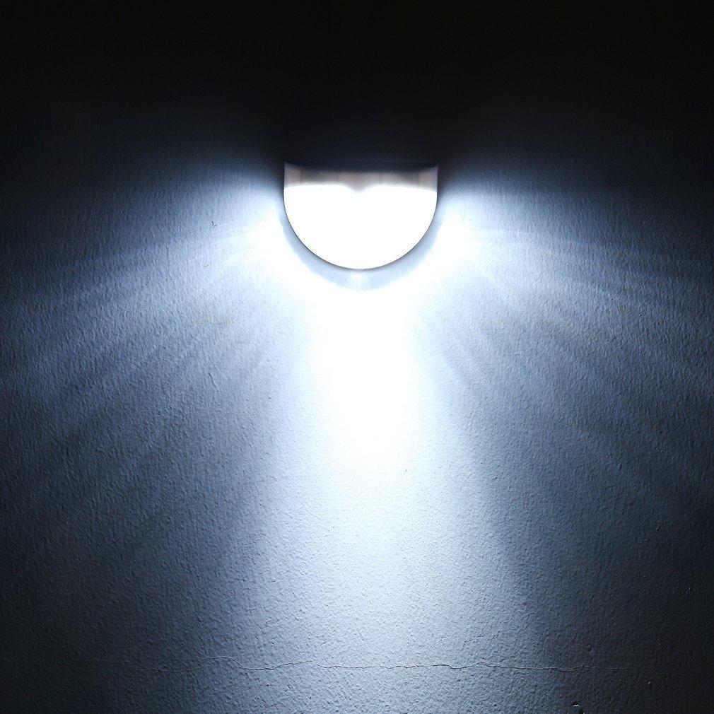 6led Energia Solare Alimentato Parete Luci Illuminazione