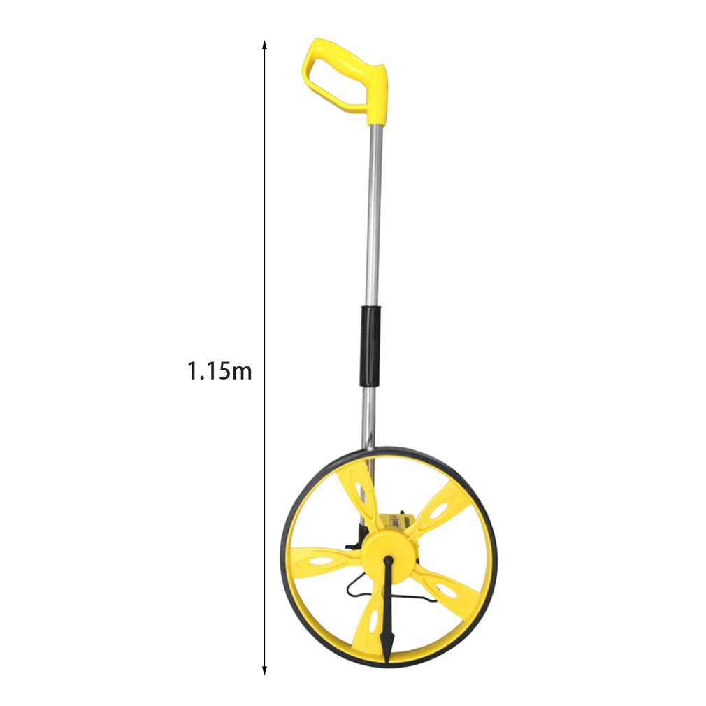Distance Measuring Wheel Building Building Wheel Real Estate Walk Step Meter Tool Carry Bag kd c43635