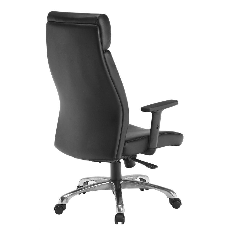 b rostuhl chefsessel pato leder schwarz schreibtischstuhl drehstuhl ergonomisch ebay. Black Bedroom Furniture Sets. Home Design Ideas