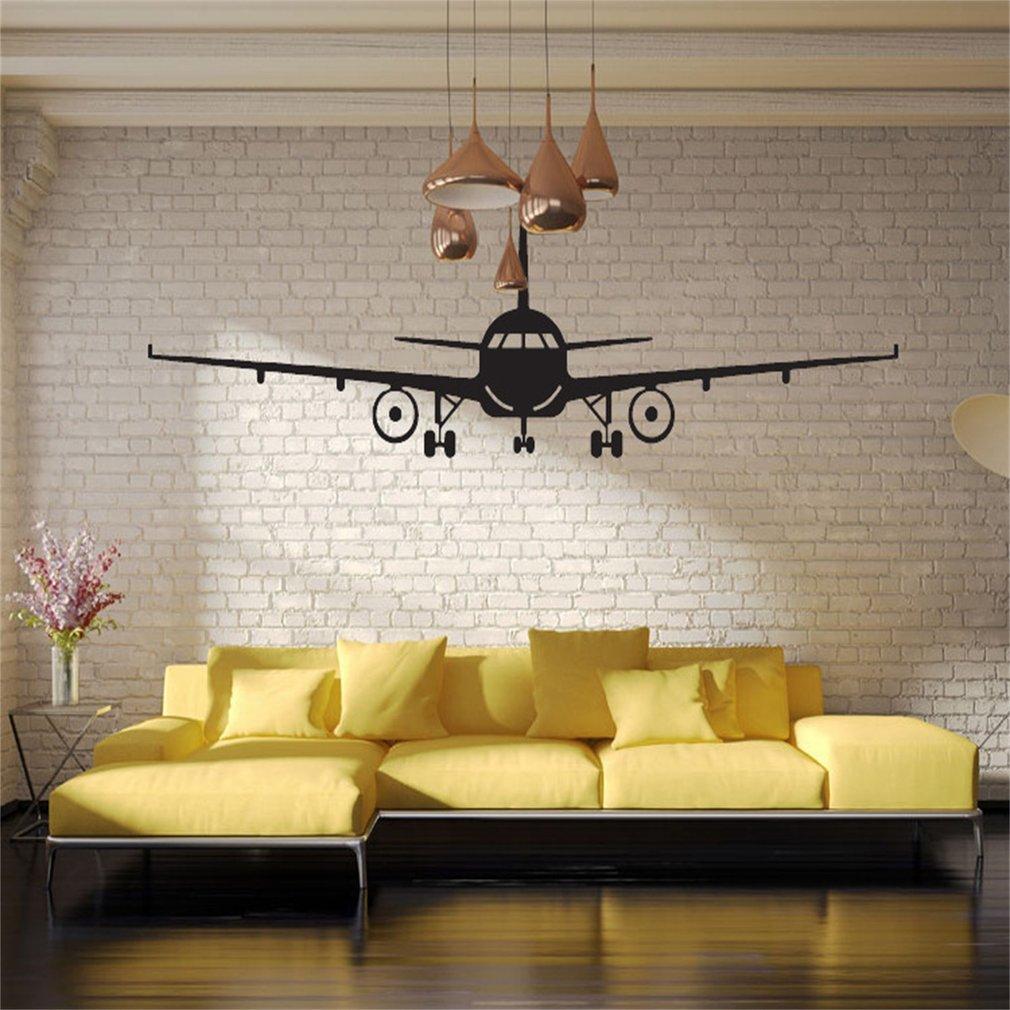 Airplane Wall Sticker Children Boys Bedroom Living Room Decals