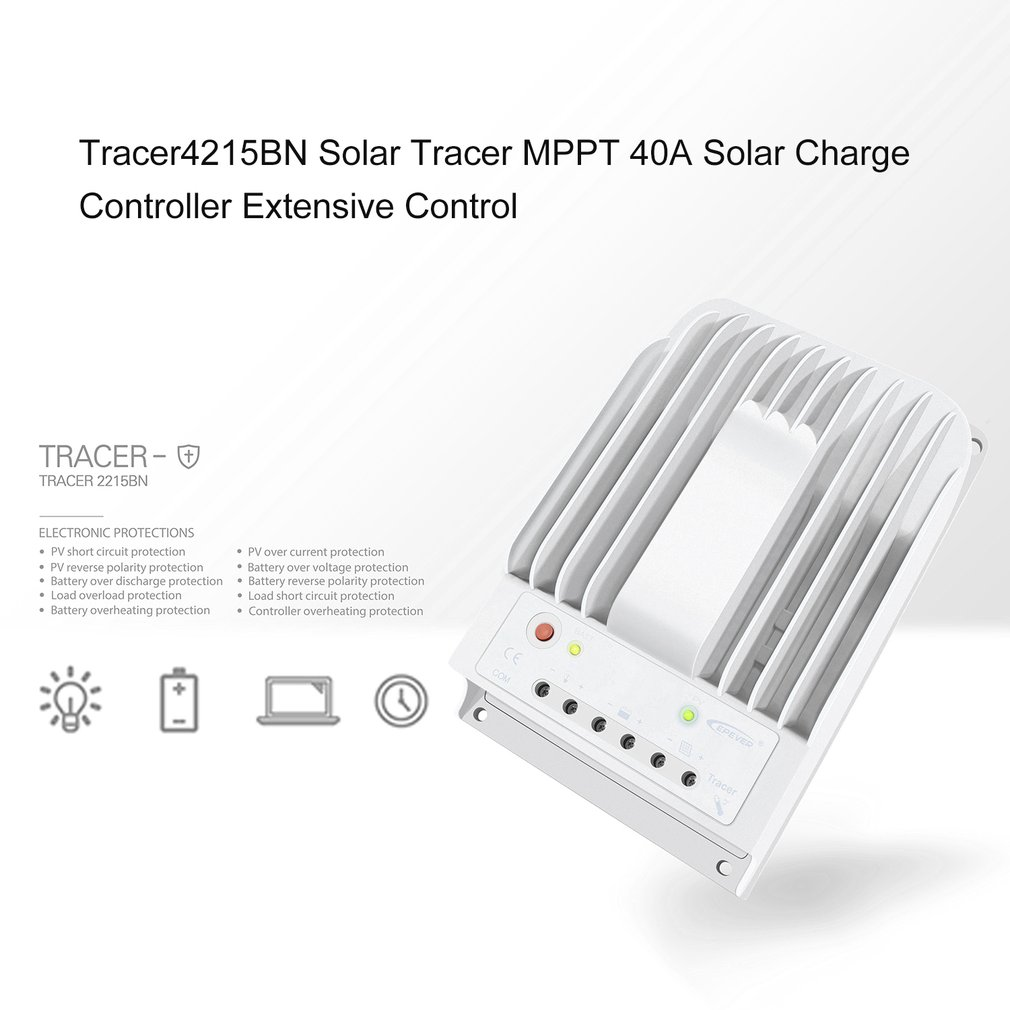 Tracer4215bn Solar Tracer Mppt 40a Charge Controller Extensive Specifics Control Ra