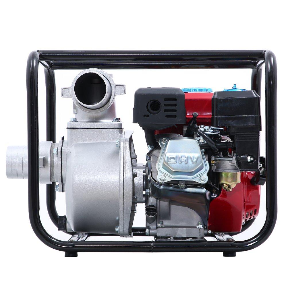Benzin Schmutzwasserpumpe Motorpumpe Kreiselpumpe Gartenpumpe Teichpumpe