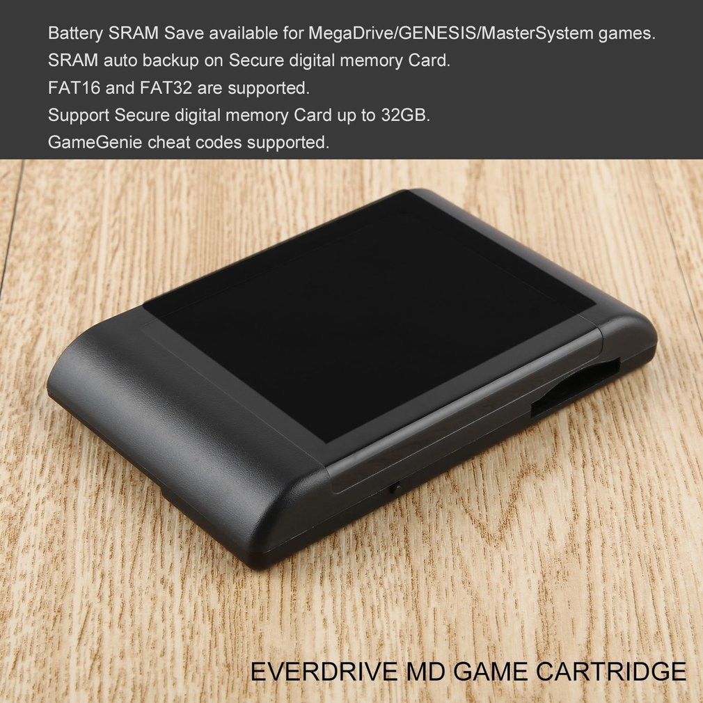 Details about Professional For SEGA EverDrive MD Console Cartridge Vintage  Console suu