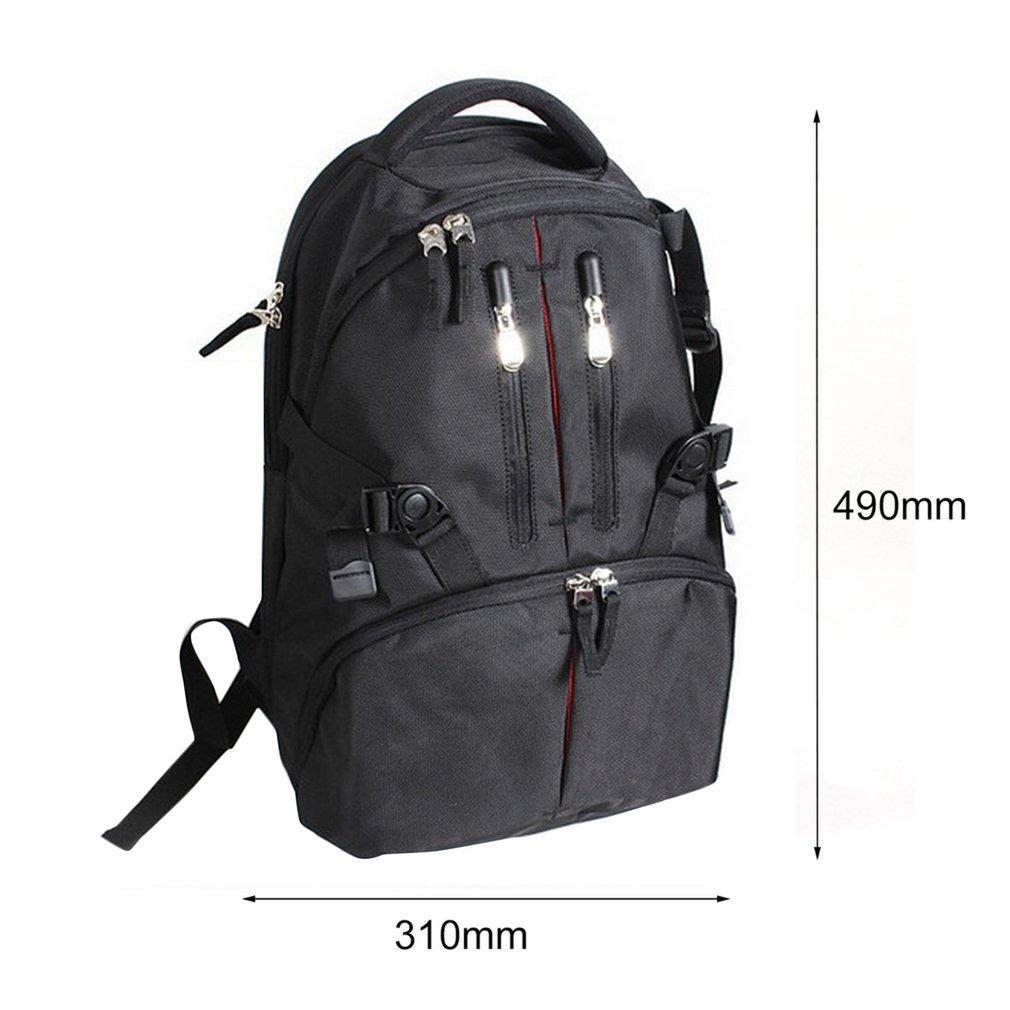 Waterproof Shockproof SLR DSLR Camera Bag Case Backpack For Canon  Nikon G@