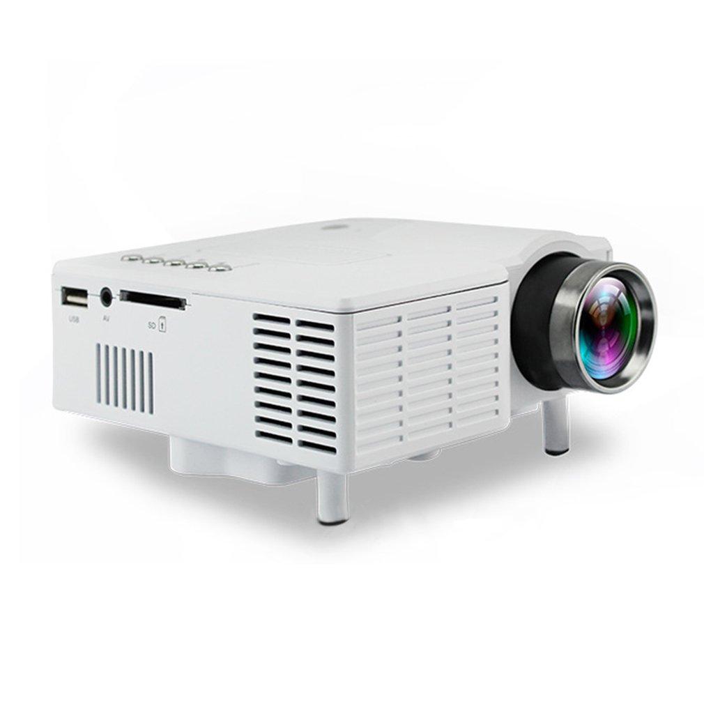 1080p Hd Mini Projector Led Home Cinema Theater Multimedia: UC28B Mini Portable LED Projector Cinema 1080P HD Family