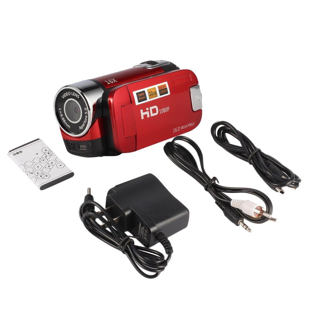 1080p hd 2 4 39 lcd 16x digital zoom camcorder video recorder camera 16mp dv kitll ebay. Black Bedroom Furniture Sets. Home Design Ideas