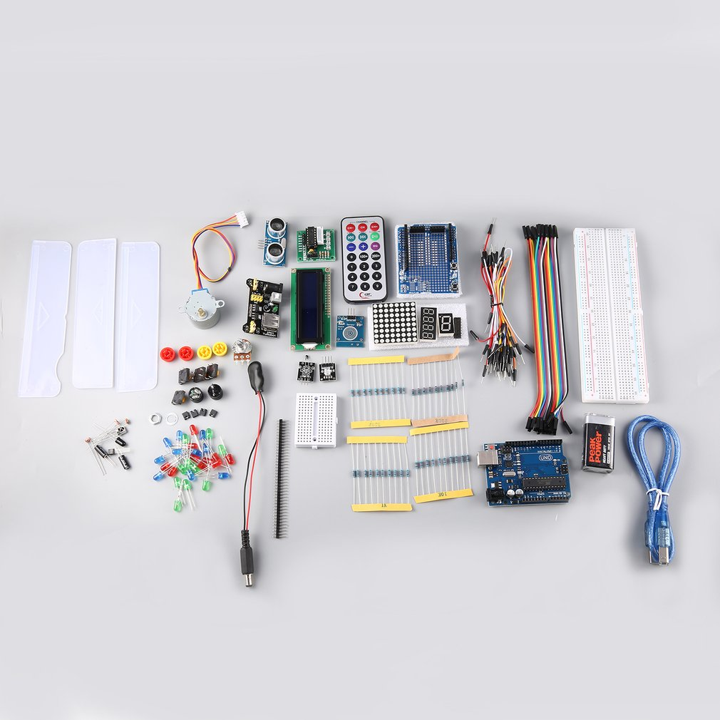 Details About Arduino Uno R3 Kit Starter Pack Projects Programming Diy Electronics Rk Electronic Circuit Knowledge Start An Actual For Enthusiasts To Learn And This Is Upgraded Super