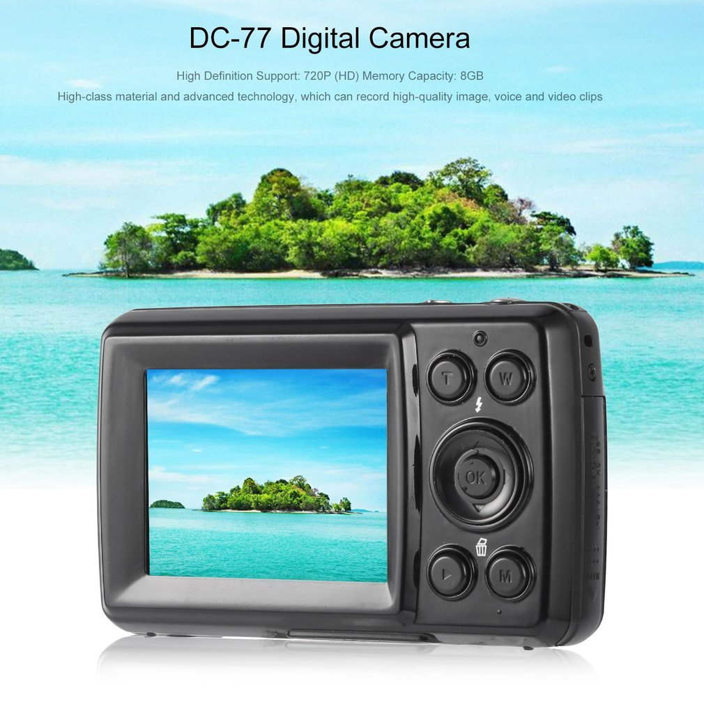 Auto Off Power Source 16mp 4x Hd 720p Digital Video Camera Camcorder 24 Tft Lcd Exposure Comp 20 Usb Port Usb20 File Format Jpeg Avi 1 Min 3min 5min 3