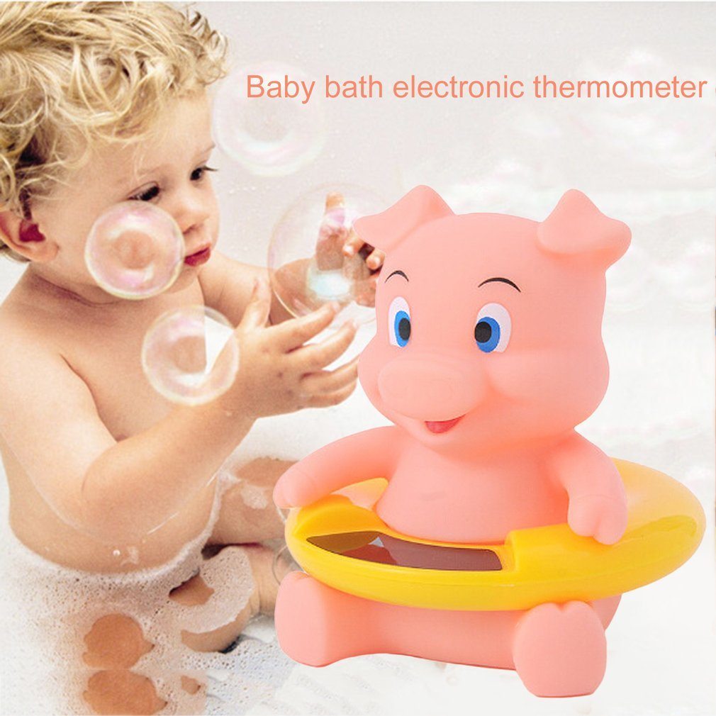 Baby Infant Bath Tub Water Temperature Tester Toy Animal Shape ...