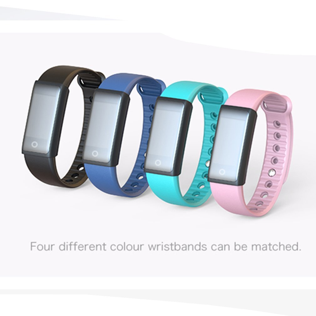 35263c9ed Bluetooth Smart Watch Color Screen Heart Rate Tracker For Samsung ...