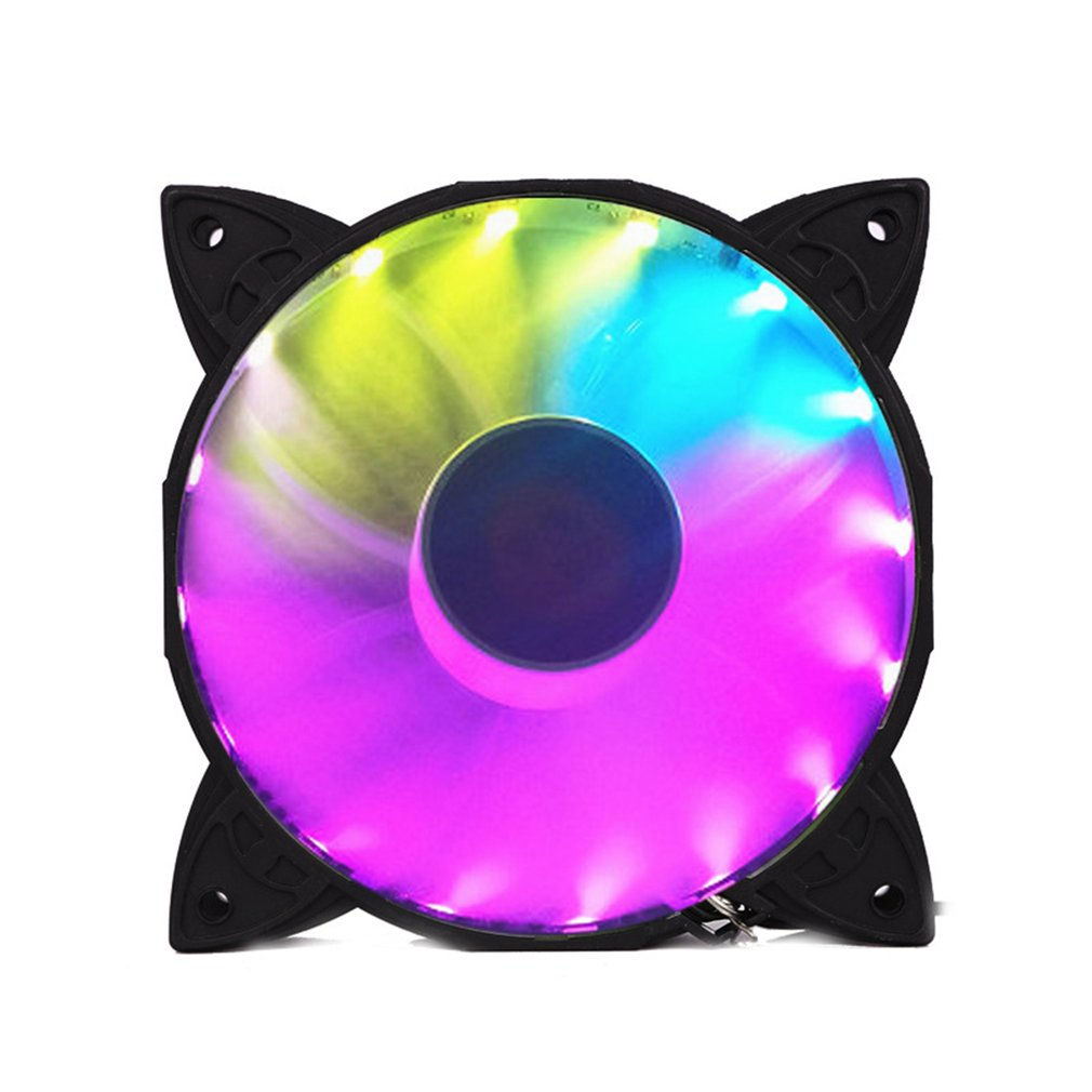 X1//3//6 RGB LED Quiet Computer Case PC Cooling Fan 120mm with Remote Control LOT#